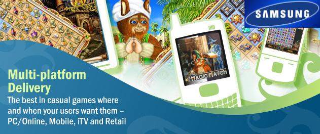 Oberon Media TV Games on Samsung