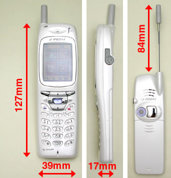 Sharp J-SH04: World's first phone with integrated Digital camera