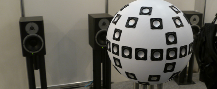 World's first 62-channel 3D Sound System