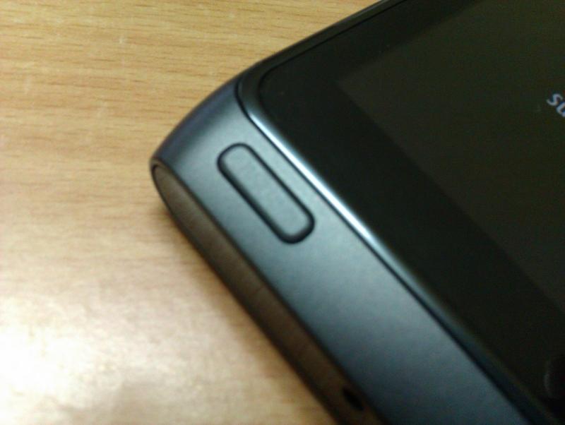 Nokia N8 Menu Key