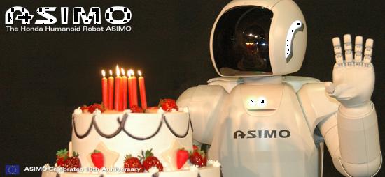 ASIMO 10 Years Celebrations