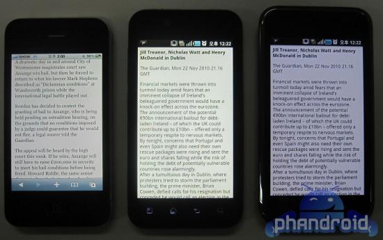 LG B, LG S & LG R - Android Smart Phones