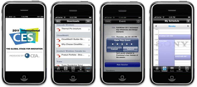 CES 2011 Official Mobile App
