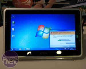 MSI's Windows 7 Powered Tablet PC