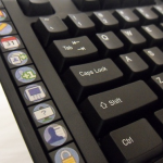Facebook Keyboard - Left side view