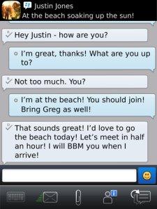 BBM 6 - New Interface