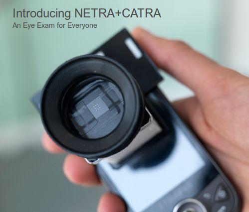 Netra + Catra - $2 Eye Testing Tool