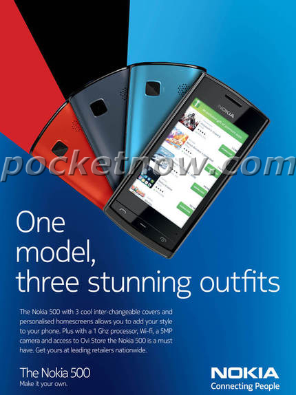Nokia 500 Fate Mobile Phone - Pictures, Specs, India Price