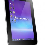Lenovo IdeaPad P1 - Windows 7 Tablet - Front View (Portrait Mode)