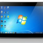 Lenovo IdeaPad P1 - Windows 7 Tablet - Front View
