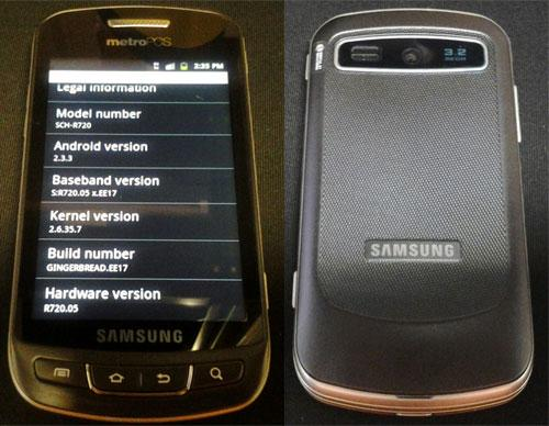 """Samsung Admire """"Android based"""" low cost mobile phone"""
