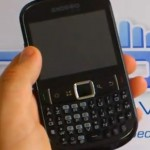 """ZTE Tureis - """"BlackBerry"""" Style Android Phone : Front view"""