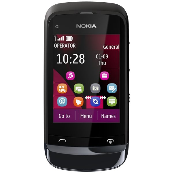 Nokia C2 Front View
