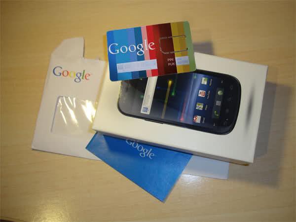 Google SIM Card package