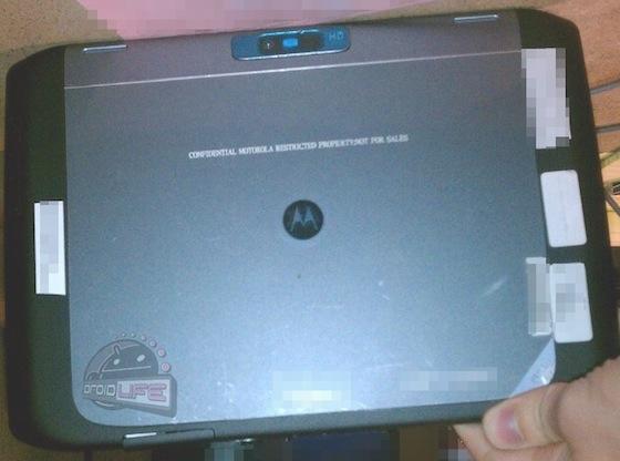 Motorola Xoom 2 - back view