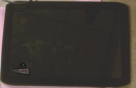 Motorola Xoom 2 - front view
