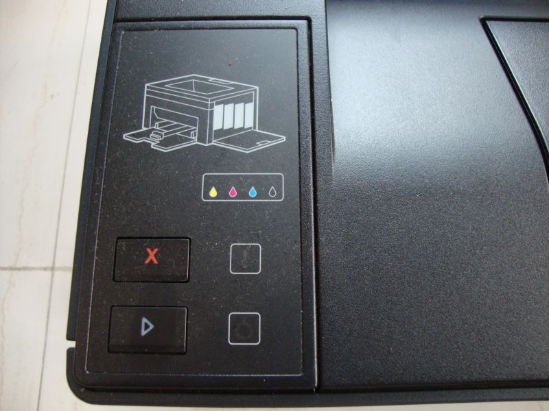 Dell 1250c - Printer User Interface