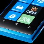 Nokia Lumia 800 - Front View Bottom