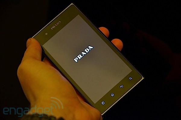 LG Prada 3.0 Smart phone - Front View