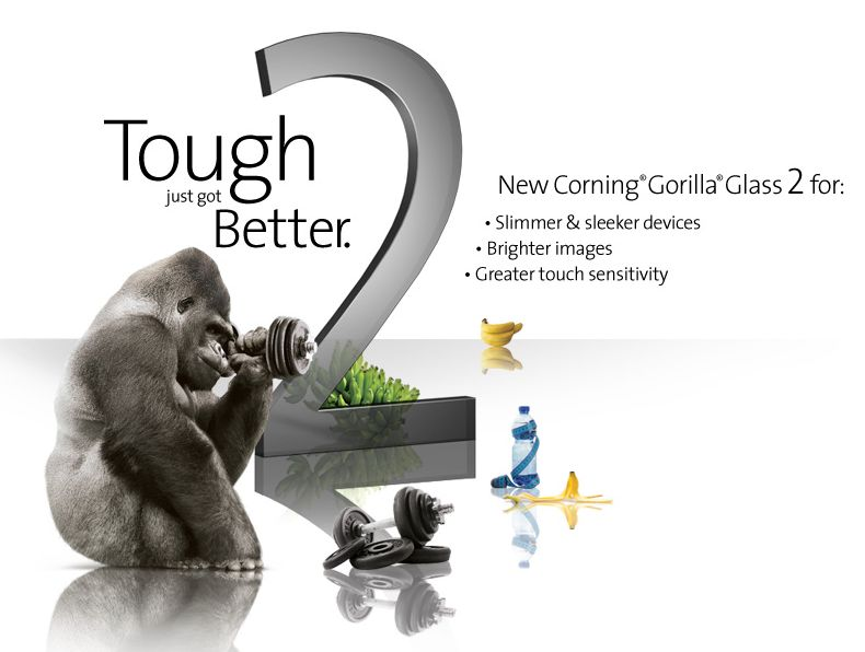 Gorilla Glass 2 - Even more safe displays on your phones