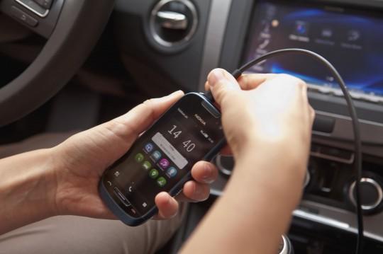Nokia Car Mode in action