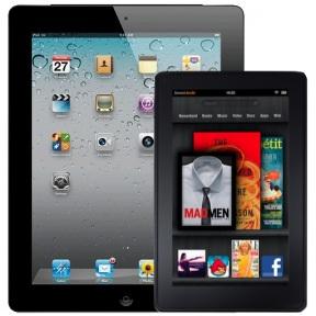 Amazon Kindle Fire vs Apple iPad
