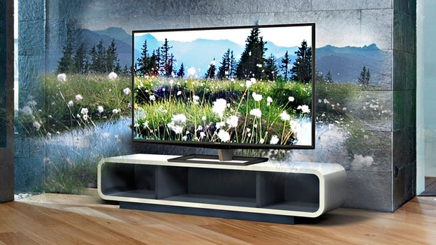 Samsung Unveils LED TV With Built-In Satellite Receiver