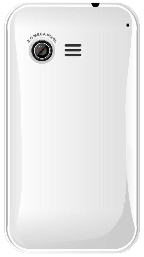 Micromax A50 Aisha - Rear View