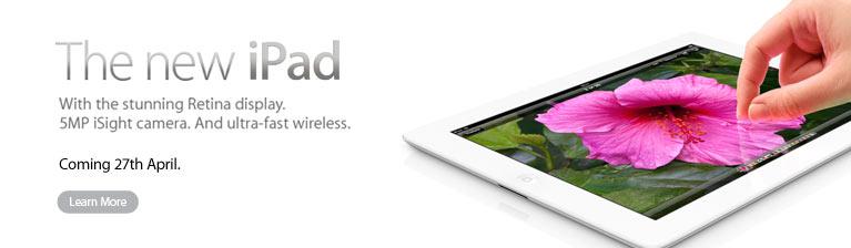 Apple iPad 3 With retina display