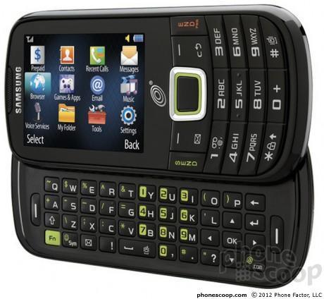 Samsung S425G QWERTY phone