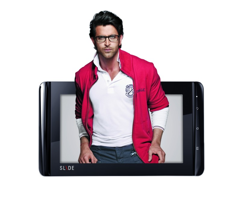 iBall Slide Tablet Brand Ambassador - Hritik Roshan