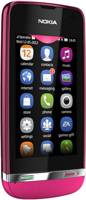 Nokia Asha 311 Pictures - Front View
