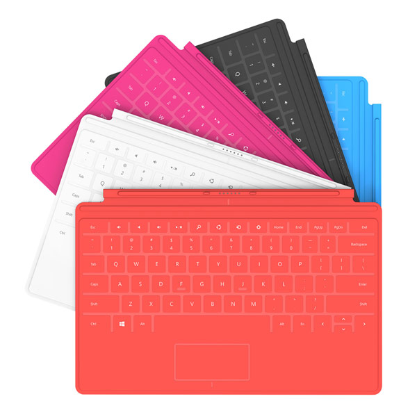 Microsoft Surface Touch Covers