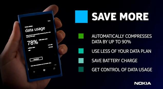 Nokia Xpress Browser - Screenshots