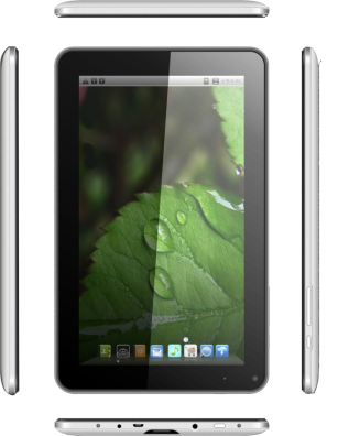 Zen UltraTab A900 Tablet Pictures - Side View and front View