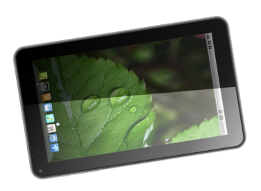 Zen UltraTab A900 Tablet Pictures - Tilted View