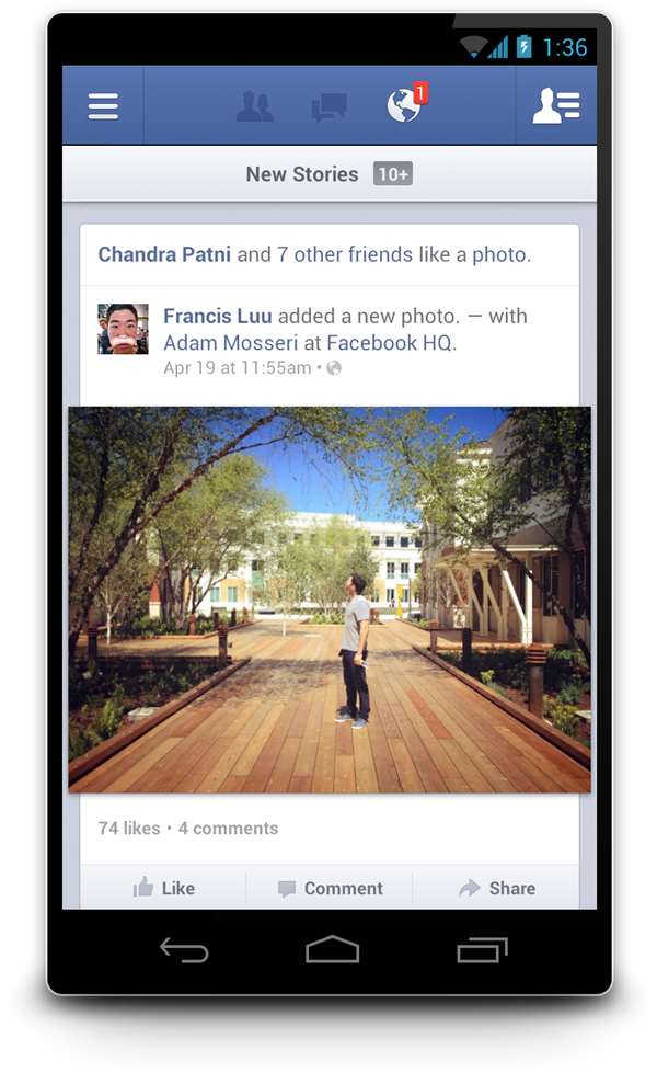 Download Install Facebook 2 0 For Android Appfa