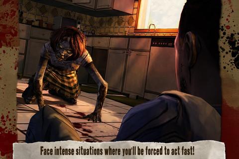 Walking Dead iPhone & iPad game app