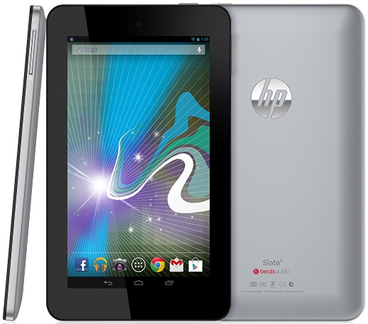 HP Slate Android tablet pictures