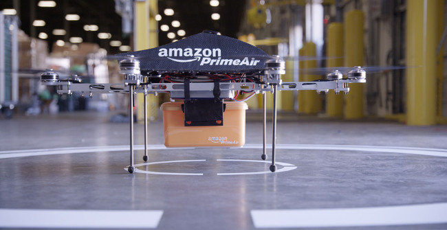 Amazon Prime Air - Unmanned Drone Delivery