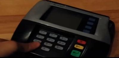 POS Swipe Card Skimmer - Fixed on POS