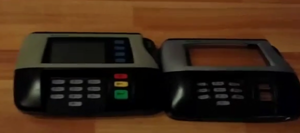 POS Swipe Card Skimmer - kept aside
