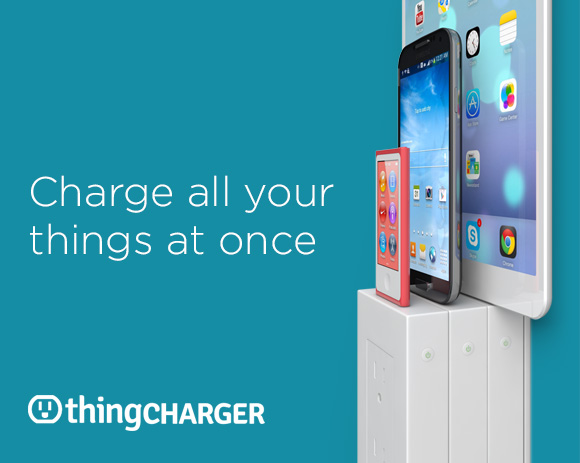 Thingcharger Multiple Devices Charging At Once