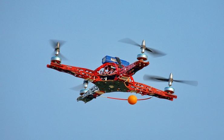 Quadracopter - UPS Air Drone