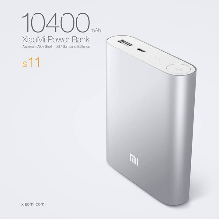 Xiaomi 10400mAh Cheap Power Bank