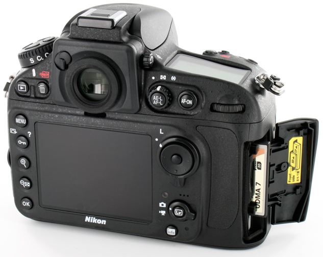 Nikon D810 DSLR Camera LCD Pictures