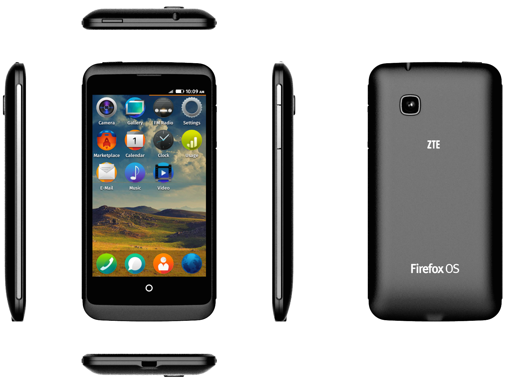 Mozilla Firefox Phone Specs, India Price, Features, Pictures