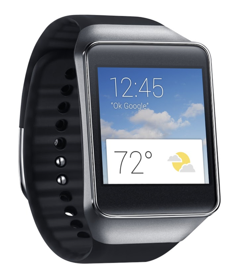 Samsung Gear Live Android wear watch picture