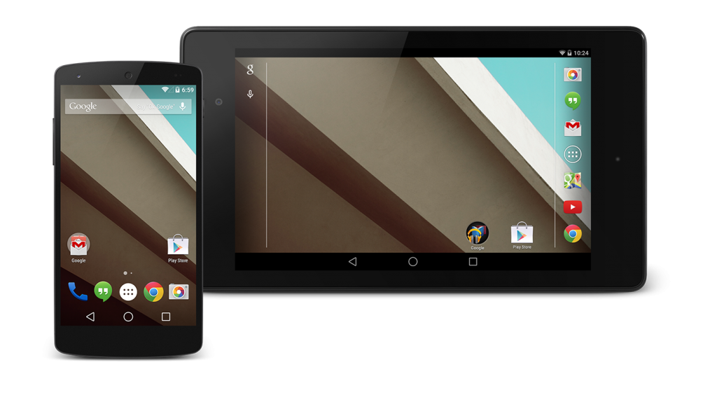 Android L - Tablet and Phone
