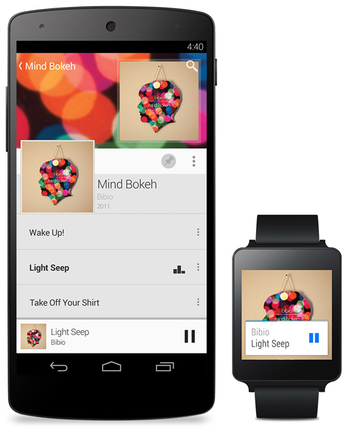 Android L and Android Wear Images